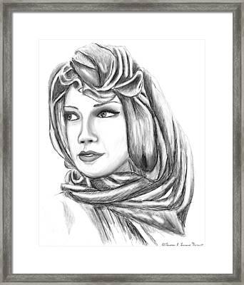 Bedouin Woman Framed Print