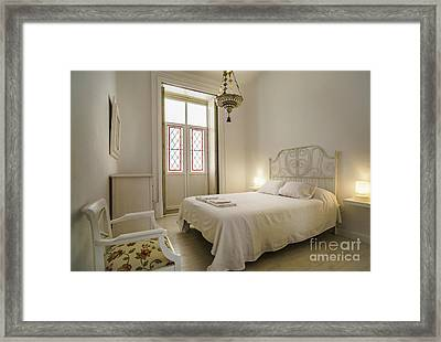Framed Print featuring the photograph Bedroom Apartment In The Heart Of Cadiz by Pablo Avanzini
