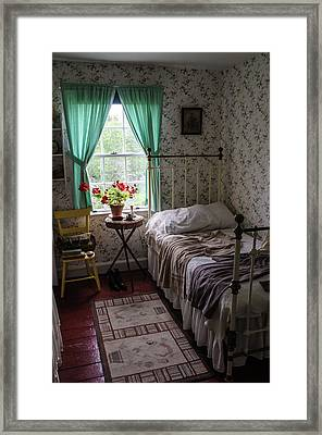 Framed Print featuring the photograph Bedroom At Green Gables by Rob Huntley
