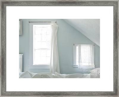 Bedroom Blues Framed Print by John Greim