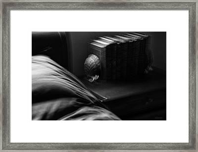 Bedtime Reading Framed Print by Ron Jones