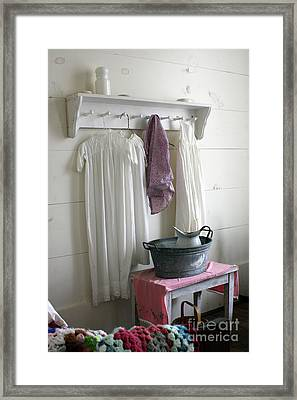 Bedtime Washup Framed Print