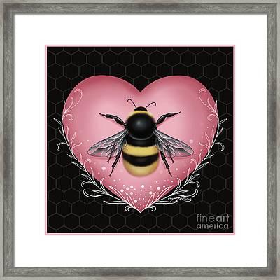 Bee Framed Print
