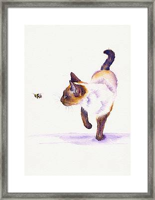 Bee Free Framed Print