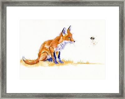 Bee Important Framed Print