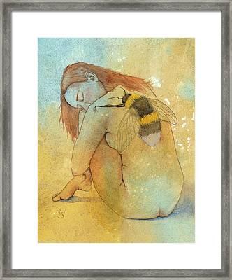 Bee Loved Framed Print