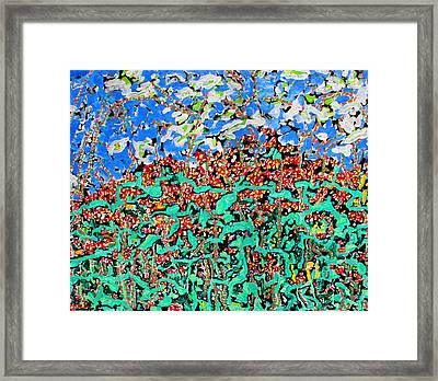 Beebalm Anastromosis  Sold Framed Print by Ray  Petersen
