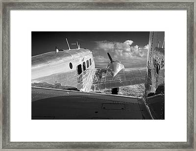 Beech Model 18 1959 Framed Print by Maxwell Amaro