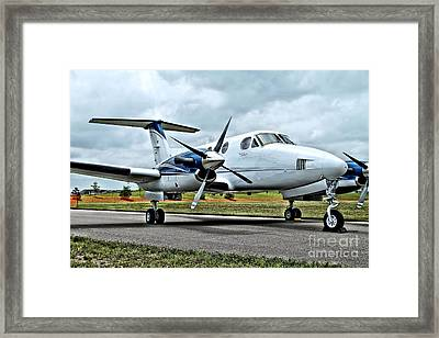 Beechcraft Kingair 2 Framed Print