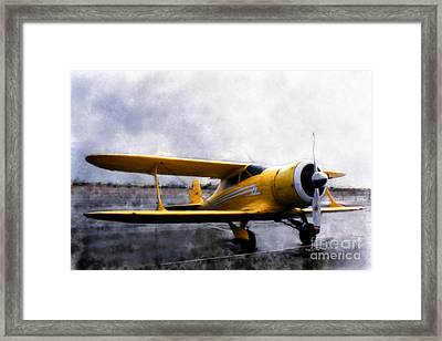 Beechcraft Stagger Wing Framed Print