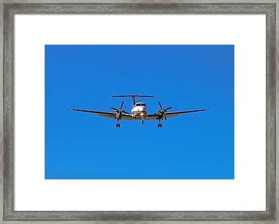 Beechcraft Super King Air 350 Framed Print