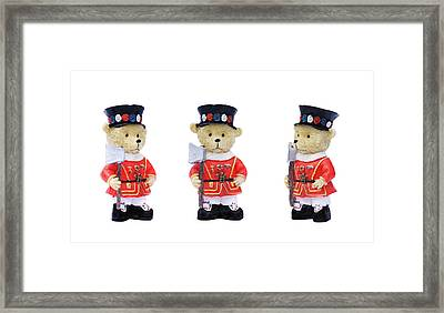 Beefeaters Framed Print
