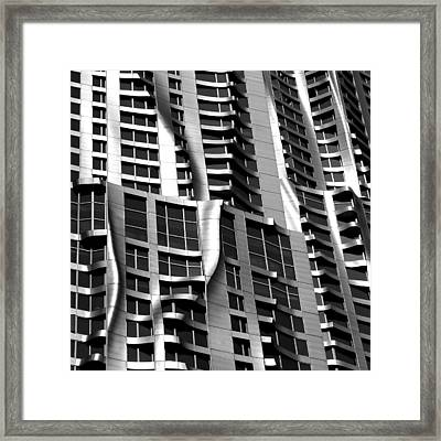 Beekman Tower Detail Framed Print by Andrew Fare
