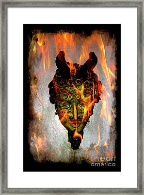 Framed Print featuring the photograph Beelzebub Iv by Al Bourassa