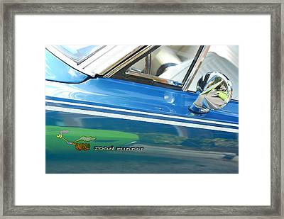 Beep Beep Hot Rod Framed Print