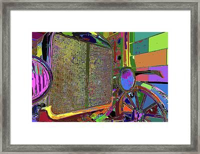Beep Beep Framed Print