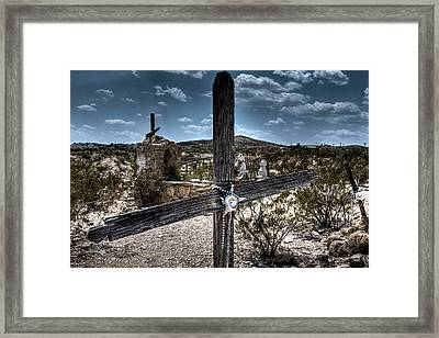 Beer Can Star Framed Print by Doc Hafferty