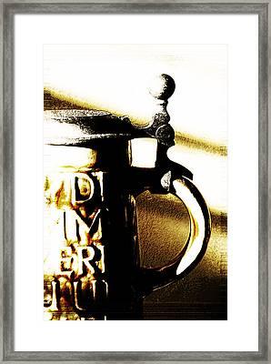 Beer Stein Framed Print by Simone Hester