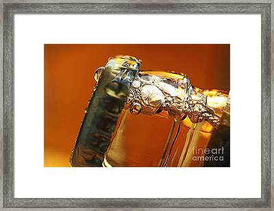 Beer Top Framed Print