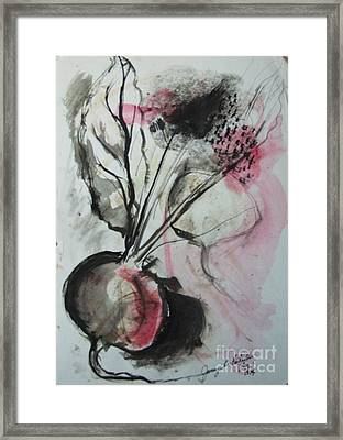 Beet Framed Print by Jamey Balester