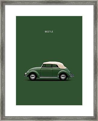Beetle 53 Framed Print by Mark Rogan