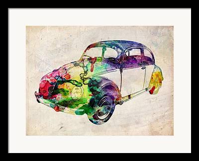 Vw Beetle Framed Prints