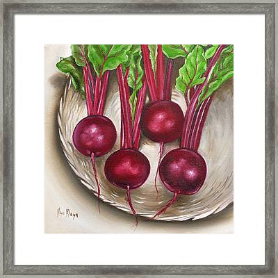 Beetroot Framed Print by Ilse Kleyn