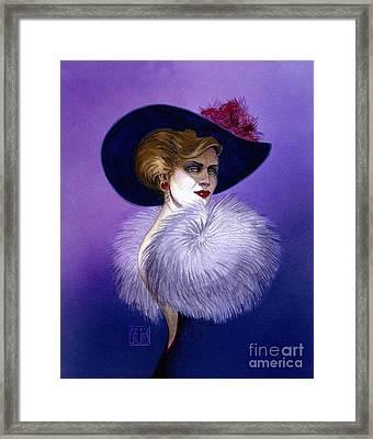Beezu Framed Print by Melissa A Benson
