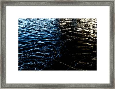 Framed Print featuring the photograph Befallen by Eric Christopher Jackson