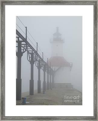 Befogged Framed Print by Ann Horn