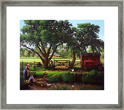 Before 2000 Framed Print by Randall R Quick