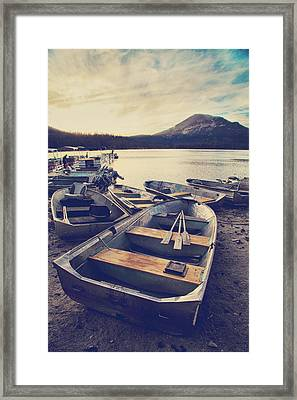 Before Another Day Disappears Framed Print