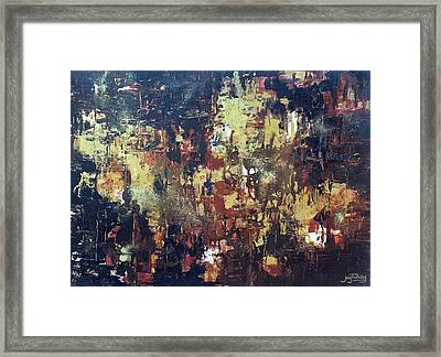 Before Creation Framed Print