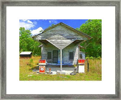 Before Ethanol Framed Print by Sheri McLeroy