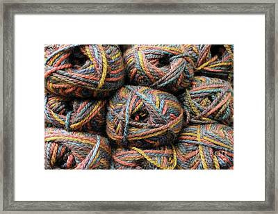 Before It Unravels Framed Print by Nina Silver