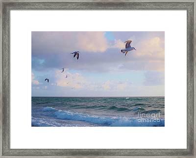 Before Our Eyes Framed Print