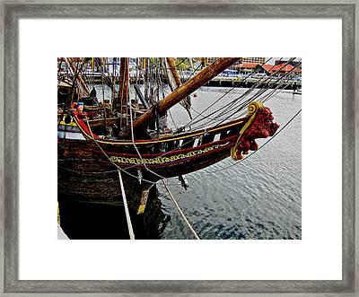 Before Setting Sail Framed Print by Douglas Barnard
