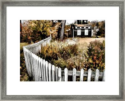 Before Snow Flies Framed Print by Betsy Zimmerli