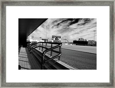 Before Spring Training 2 Framed Print
