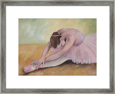 Before The Ballet  Framed Print by Torrie Smiley
