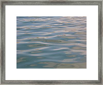 Before The Calm Framed Print