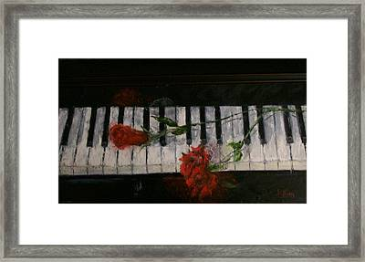 Before The Concert Framed Print by Stephen King