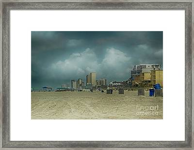 Before The Crowds Framed Print