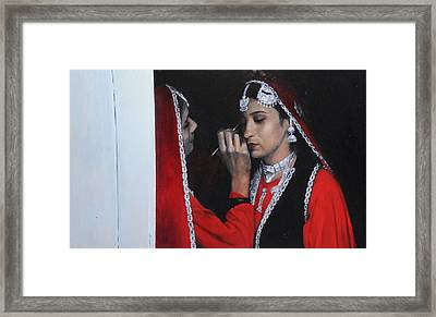 Before The Dance At The National Eisteddfod Framed Print