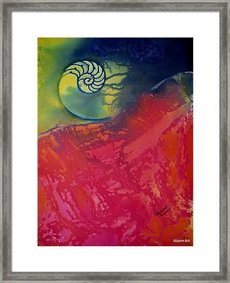 Before The Dawn Framed Print by Brenda Alcorn