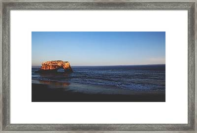 Before The Day Is Done Framed Print by Laurie Search
