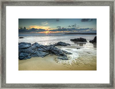 Before The Dusk Framed Print