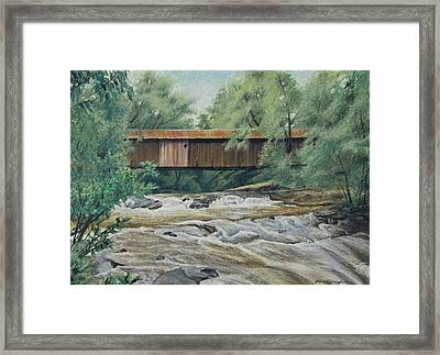 Before The Fire Framed Print by Peter Muzyka