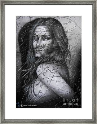 Before The First Tear Framed Print by Yonan Fayez