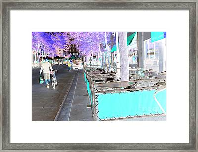 Before The Ironman Race Framed Print by David Bearden